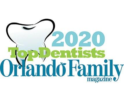 2020 Top Dentists Orlando Family Magazine Logo