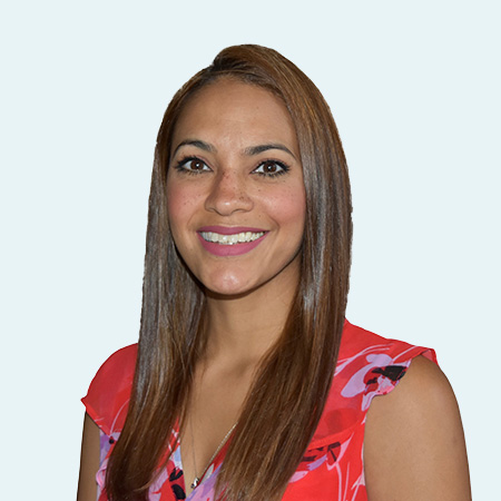 Dr. Alma Correria smiling
