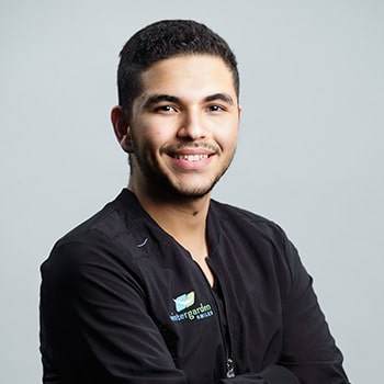 Jose one of our dental assistants smiling